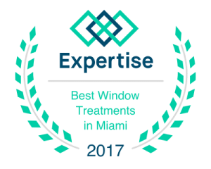 Expertise Best Window Treatments in Miami 2017